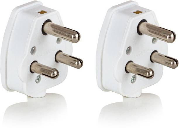 HI-PLASST 2 PCS 16A RETRO PLUG 3 PIN TOP 16a retro Three Pin Plug