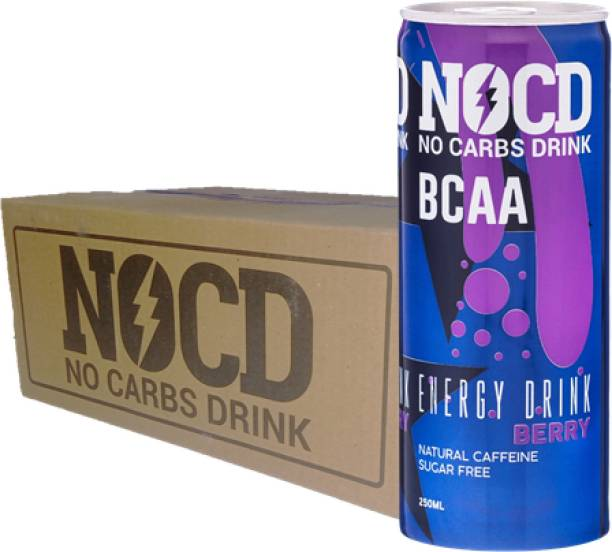 NOCD Berry Pack of 24 Energy Drink
