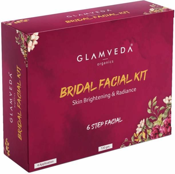 GLAMVEDA Bridal Skin Brightening & Radiance Facial Kit