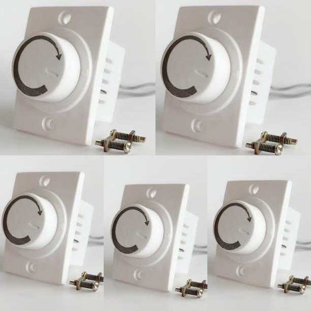 HI-PLASST SOCKET DIMMER -5PCS FAN REGULATOR Step-Type Button Regulator