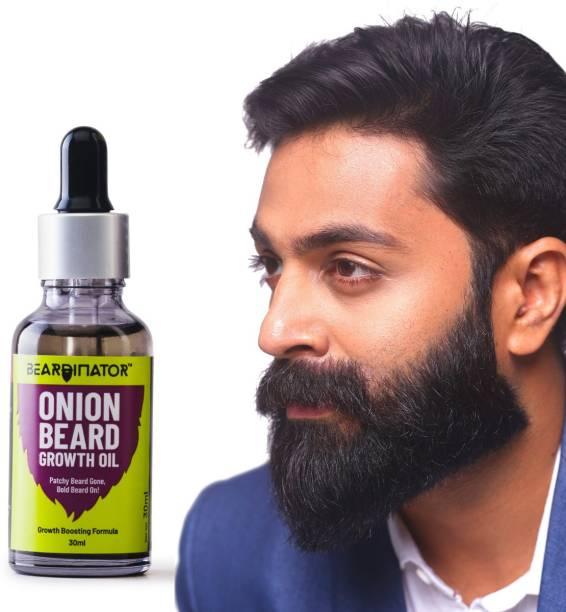 Beardinator Onion Beard Growth Oil For Men Hair Oil