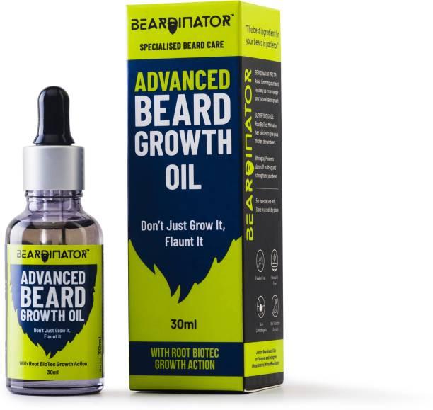 Beardinator Advanced Growth Beard Oil for Men Hair Oil