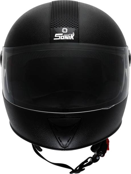 SONIK G-Sports Gold 02MB Motorbike Helmet