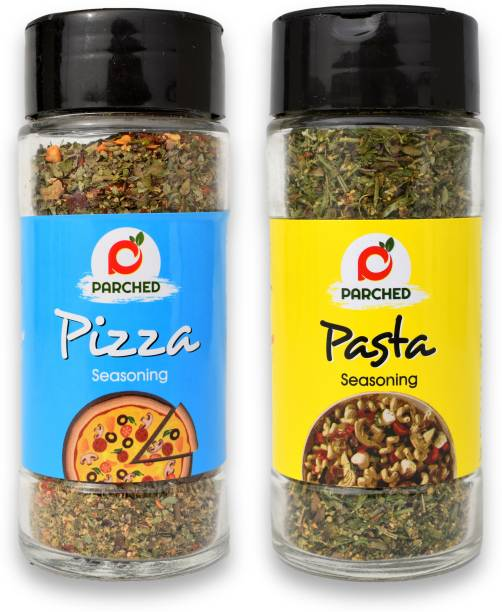 Parched Pizza & Pasta Seasoning Combo (70gm, 35gm each)