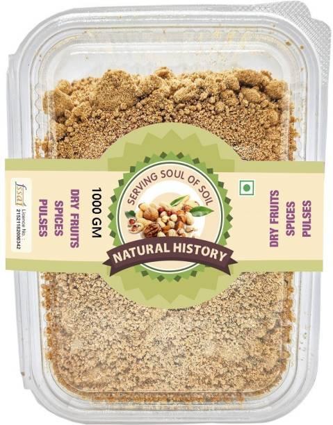 natural history Brand - DRY FRUIT Jaggery Powder -1000 gm (Pack of 1) Powder Jaggery