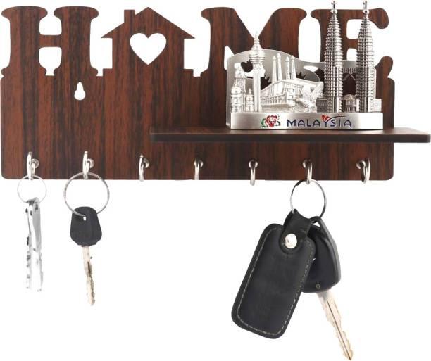 Phonedda Wood Key Holder