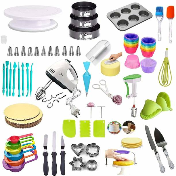 FLYBY Cake Decorating Tools (Big Combo) Baking Comb