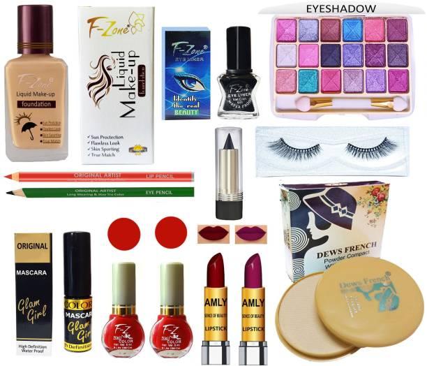 CLUB 16 13 In One Makeup Kit For Modern Women & Girls Vk49