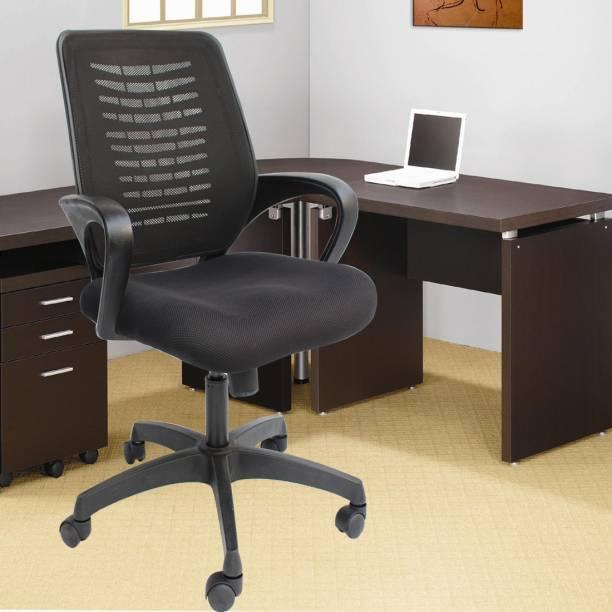 DUREJA INTERNATIONAL ( Medium Back ) office revolving chair Fabric Office Executive Chair