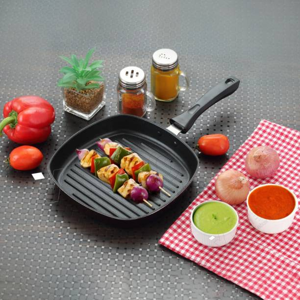 iVBOX ® EzyGrill Non Stick Grill Pan 23 cm diameter
