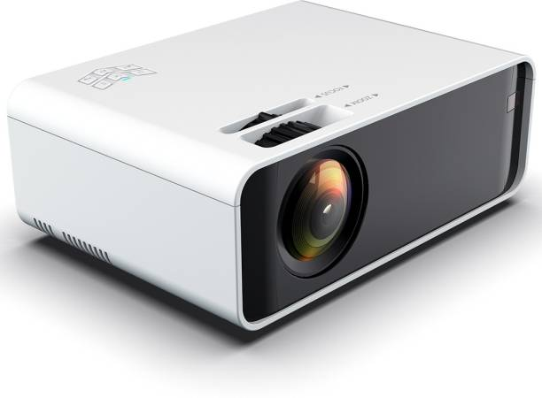 Torexo Sales D60/s A U N Full HD Android 6.0 / 1GB RAM / 16GB ROM / 4000 Lumens Projector For Business, Home Cinema, Office, School Etc Portable Projector