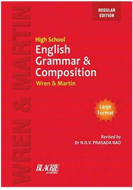 Wren & Martin High School English Grammar And Composition Book (Regular Edition) (English)