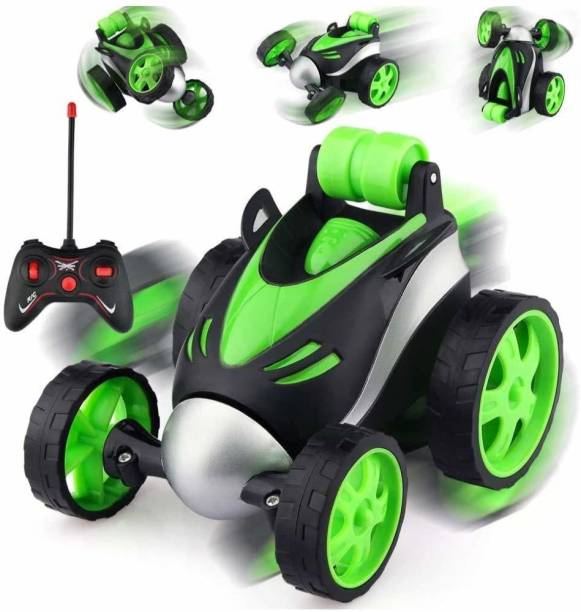Jay Shree Gopal Stunt Vehicle 360°Rotating Rolling Electronic Radio RC Remote Control Toy Charging car Toys for Boys Kids
