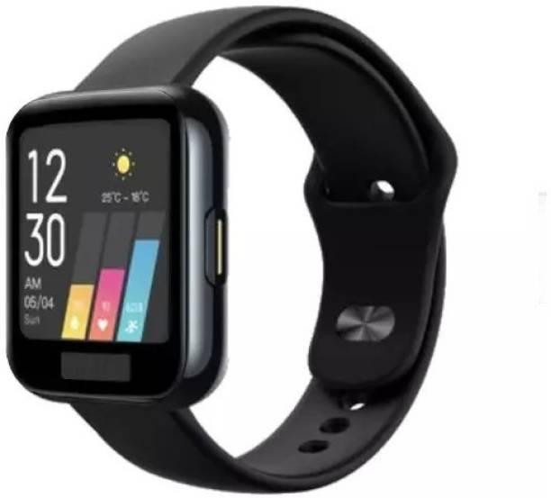 CallSmith Screen Guard for Realme Smart Watch, Full Coverage Soft Fibre Glass Screen Protector
