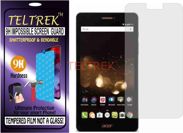 TELTREK Tempered Glass Guard for ACER ICONIA TALK S (Flexible, Unbreakable)