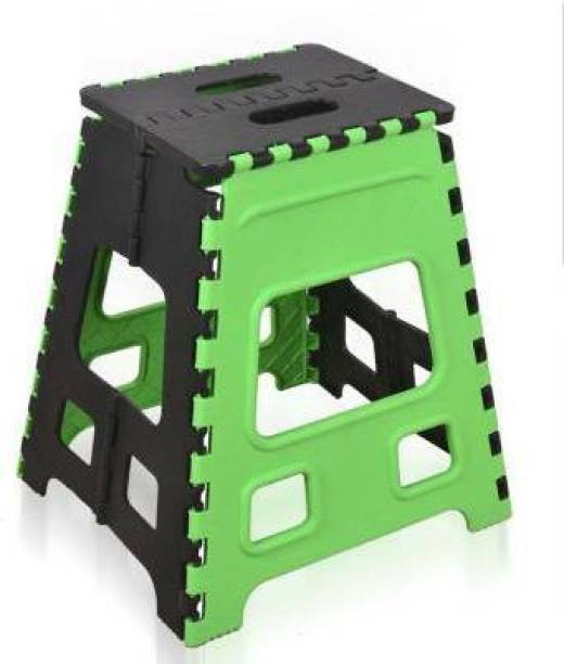 HUMBLE KART Folding Stool for Adults and Kids Bedroom & Kitchen Stool (GREEN) Stool (GREEN) 18 Inch Living & Bedroom Stool