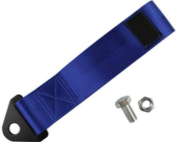 DESIKARTZ High Strength Nylon Car Tow Strap Tow Rope - BLUE 0.3 m Towing Cable