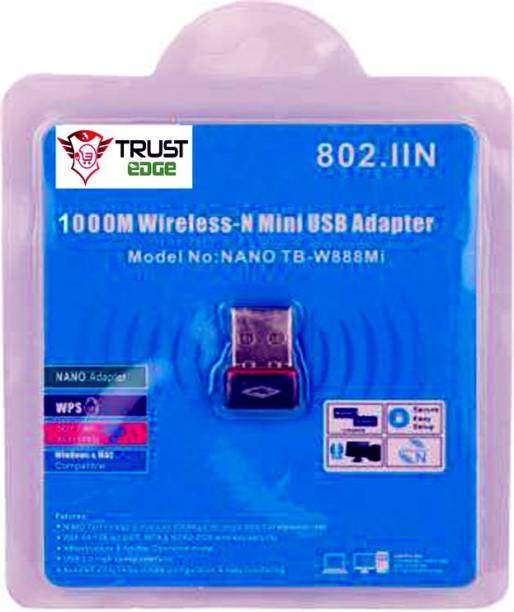 Terabyte Wifi Dongle 802.11n Wi Fi 2.4GHz Small Wireless USB Adapter