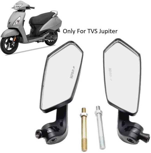 AutoPowerz Manual Rear View Mirror, Dual Mirror For TVS Jupiter