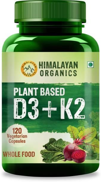 Himalayan Organics Plant Based D3 + K2