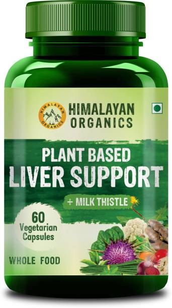 Himalayan Organics Plant Based Liver Support with Milk Thistle