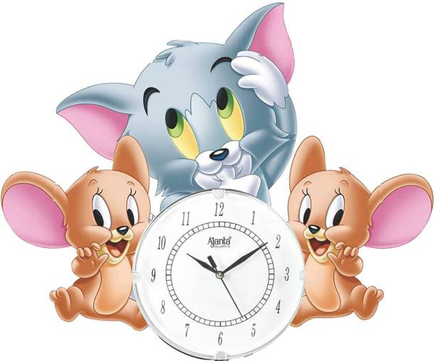 AJANTA Analog 43 cm X 38 cm Wall Clock