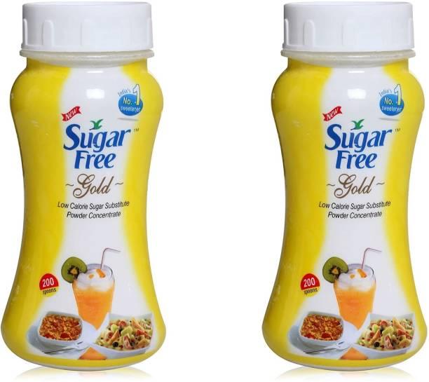 Sugar free S Free Gold jar 100 gm pack of 2 Sweetener