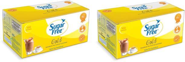 Sugar free S free gold sachet 100 , pack of 2 Sweetener