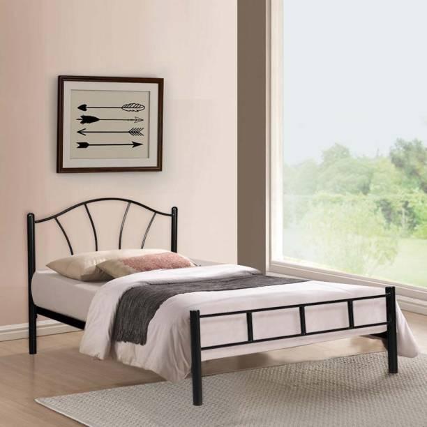 FurnitureKraft Antwerp Metal Single Bed
