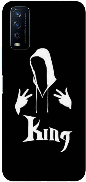 Raydenhy Back Cover for ViVO Y20G Printed Anonymus Hacker, Joker, King