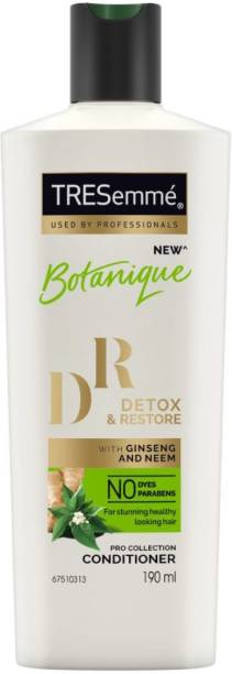 TRESemme Detox & Restore Conditioner- No Parabens, No Dyes