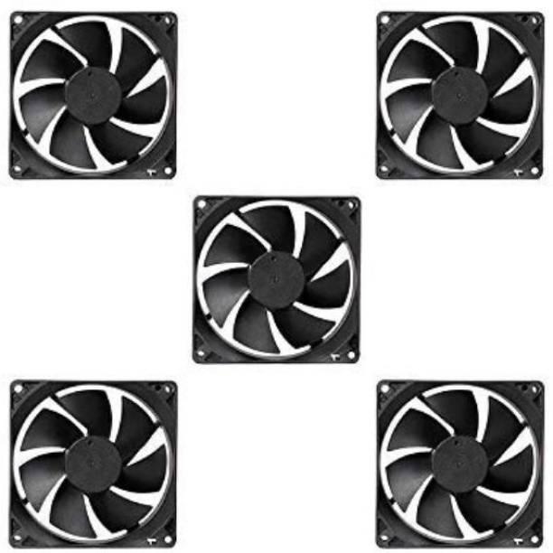 ERH India 5 Pcs DC 12V Cooling Fan for PC Case,DC 12V DC Cooling Fan Cooler