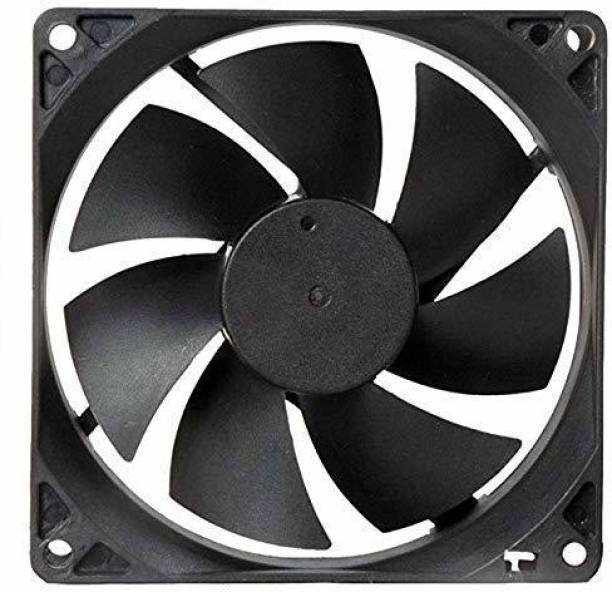 ERH India (Pack of 1) India DC 12V Cooling Fan for PC Case,DC 12V DC Cooling Fan,3 Inches CPU Cooler Radiator Fan Cooler