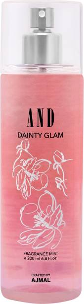 AND Dainty Glam Body Mist Crafted by Ajmal + 2 Parfum Testers Body Mist  -  For Women