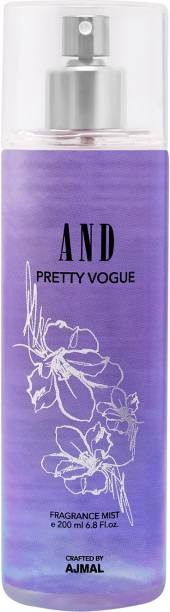 AND Pretty Vogue Body Mist Crafted by Ajmal + 2 Parfum Testers Body Mist  -  For Women