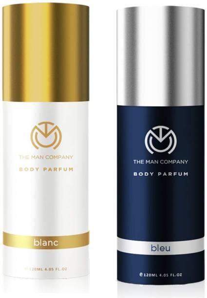 THE MAN COMPANY Blanc & Bleu Combo Spray - Pack of 2