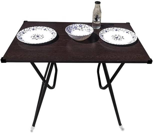Salman's Oak DN 23 Engineered Wood 2 Seater Dining Table