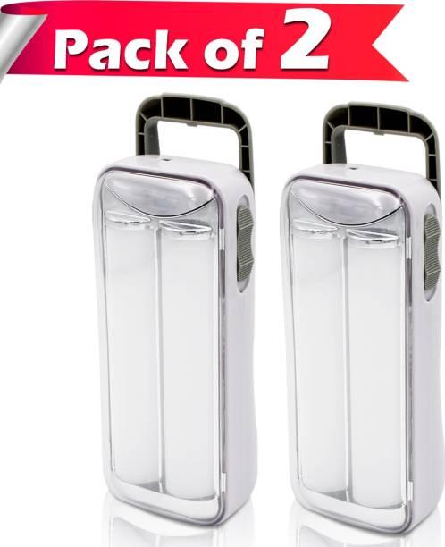 Make Ur Wish Small Emergency Rechargeable 2 Tube Light. Lantern Emergency Light