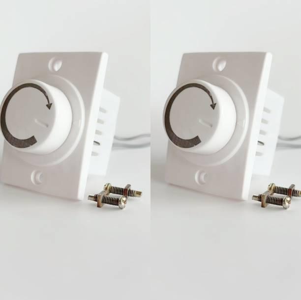 HI-PLASST SOCKET DIMMER -2PCS FAN REGULATOR Step-Type Button Regulator