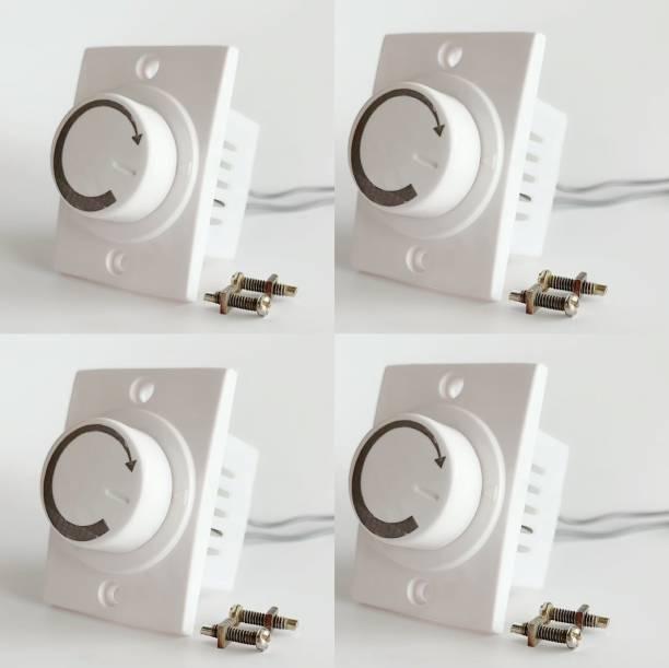 HI-PLASST SOCKET DIMMER -4PCS FAN REGULATOR Step-Type Button Regulator