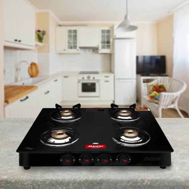 Master Perfect Steel, Glass Manual Gas Stove