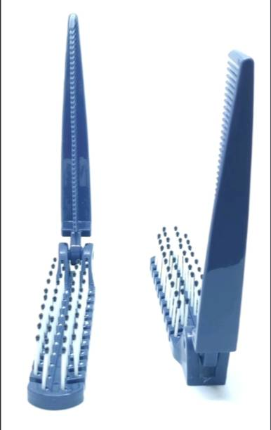 ClueSteps 2 in 1 Set of 2 Pocket Folding Hair Comb