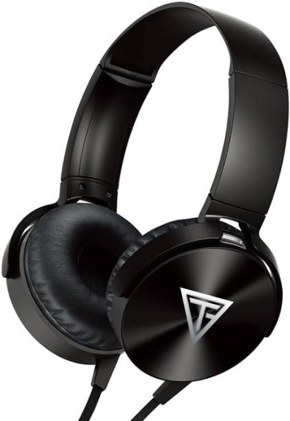 TECHFIRE Wired Extra Bass On-Ear Headphones Wired Headset Wired Headset