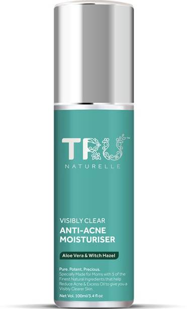 TRU NATURELLE Moisturizer For Face with Aloe Vera and Witch Hazel |