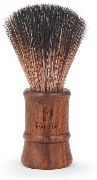 Hajamat Wooden | Premium Sheesham Wood Handle|Extra Dense & Ultra Soft Bristles| Made in India Shaving Brush