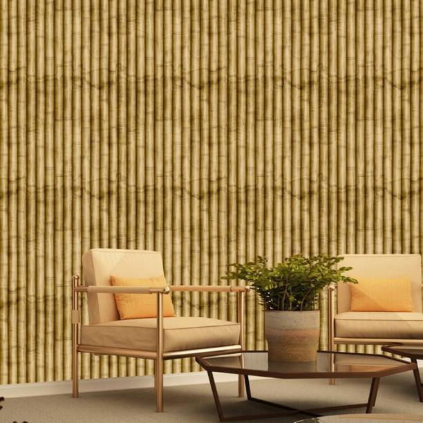 ASIAN PAINTS Large EzyCR8 P&S Textured Bamboo Beauty Sticker
