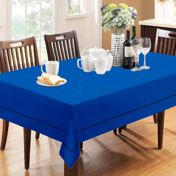 Lushomes Solid 12 Seater Table Cover