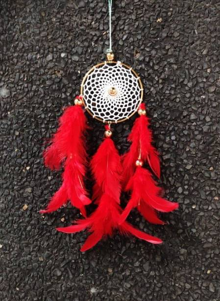 lucky dream crafts Feather Windchime