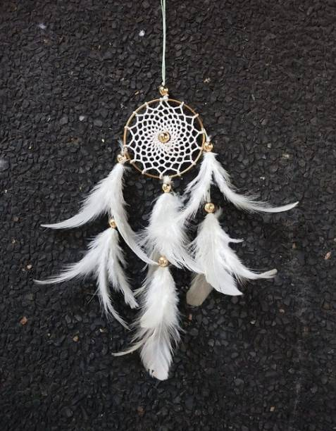 lucky dream crafts Feather Dream Catcher