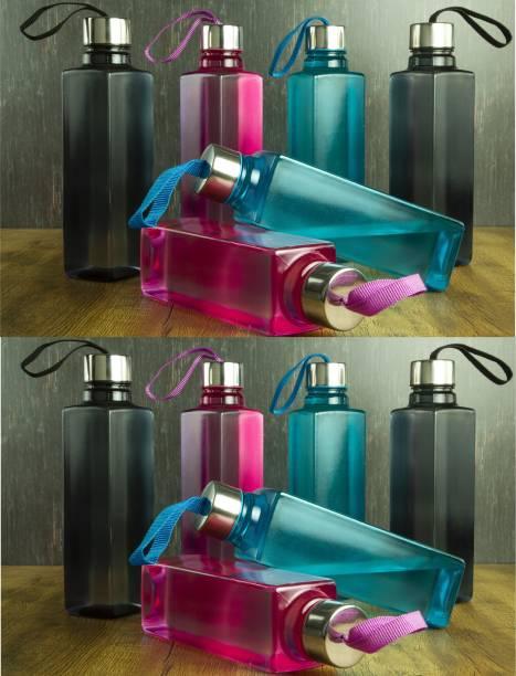 Romax PREMIUM QUALITY HOME DECOR SUPER COOL WATER BOTTLE MULTI COLOR SET OF -12 1000 ml Bottle